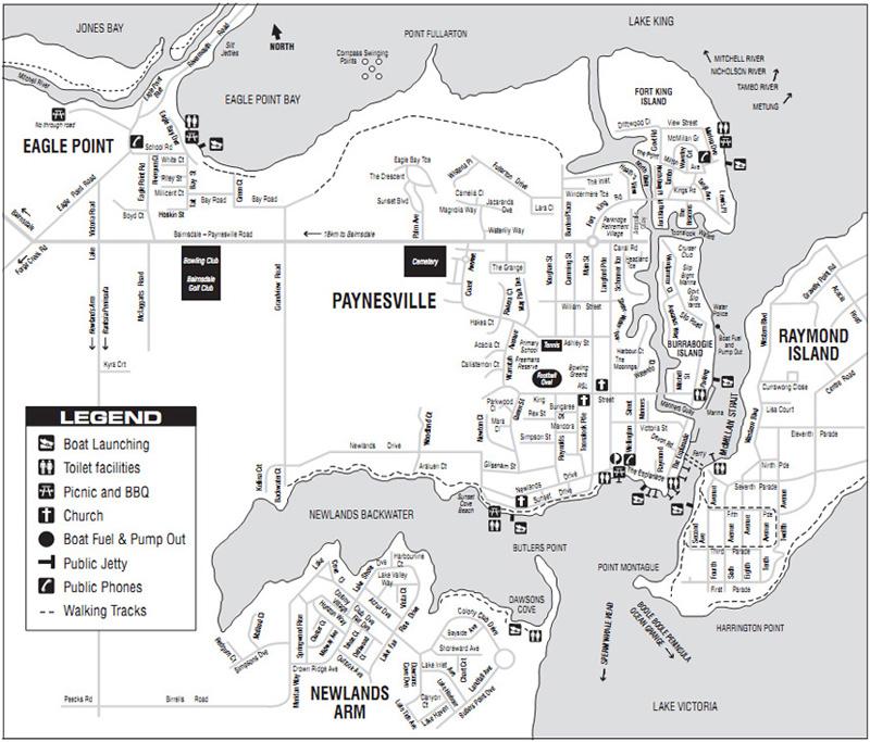 Paynesville Town Map